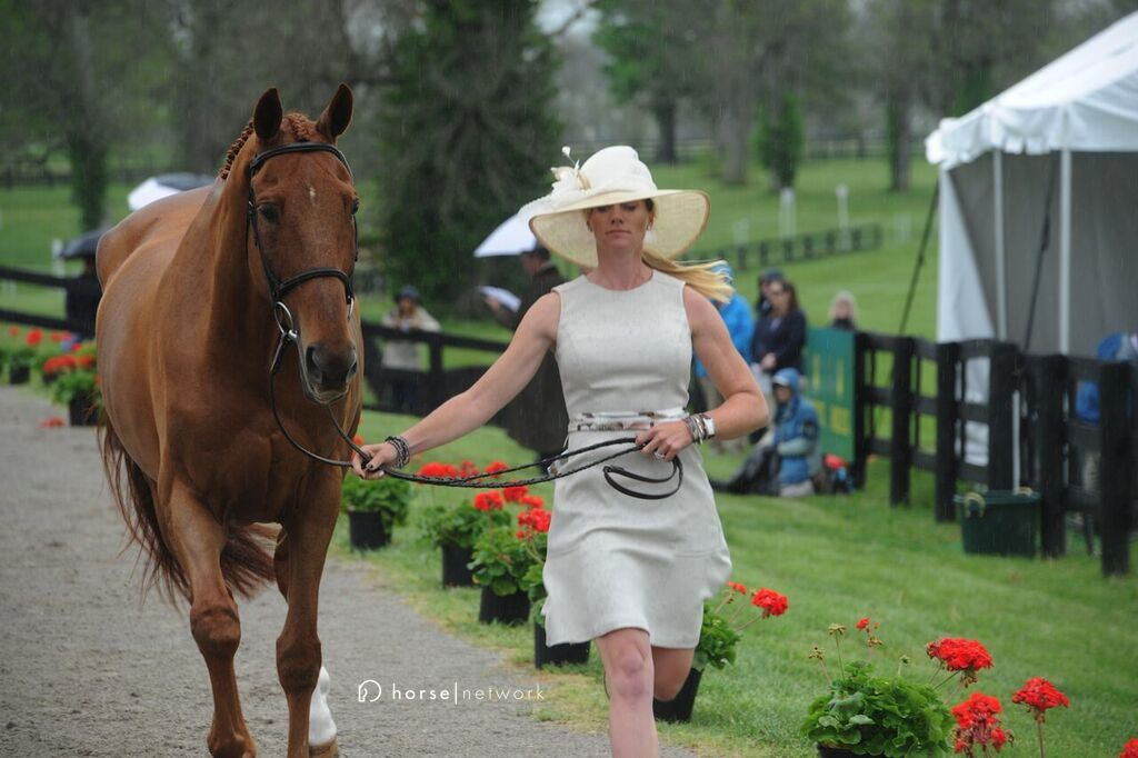 Classically chic Sinead Halpin and the gorgeous Manoir de Carneville.