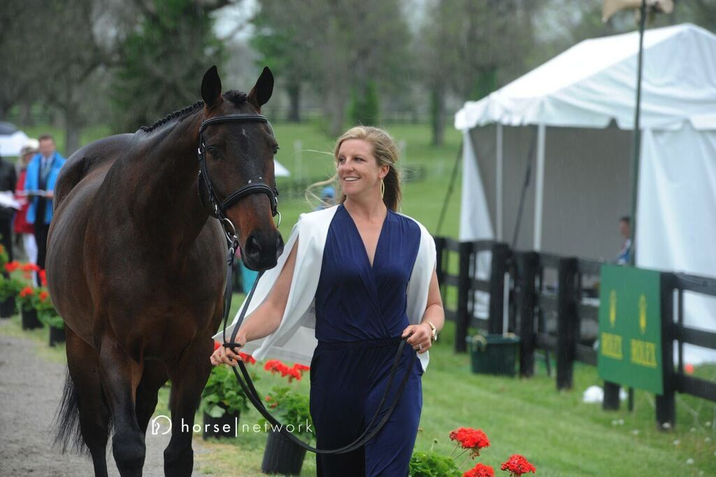 Allie Knowles is quite pleased with her OTTB Sound Prospect.
