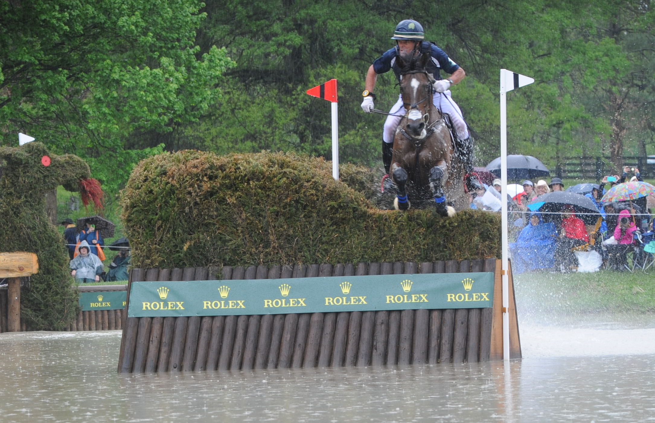 Kyle Carter and Madison Park were all clear on Saturday.